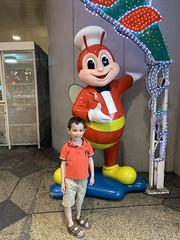 Ezra with Jollibee