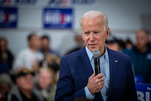 Joe Biden at McKinley Elementary School | by Phil Roeder