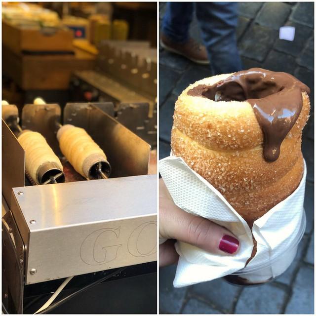 Praga/ Il dolce tipico: Trdlo, in Italiano