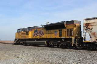 UP 9027 (EMD SD70AH) in Acampo, CA