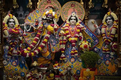 ISKCON Ujjain Deity Darshan 05 Jan 2020