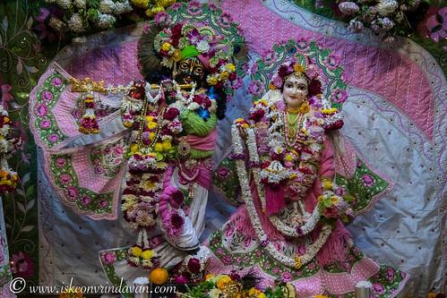 ISKCON Vrindavan Deity Darshan 05 Jan 2020