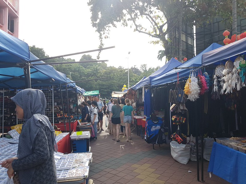 Sunday in Kuching Market and Museum