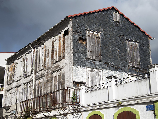Abandoned Building in Road Town, British Virgin Islands