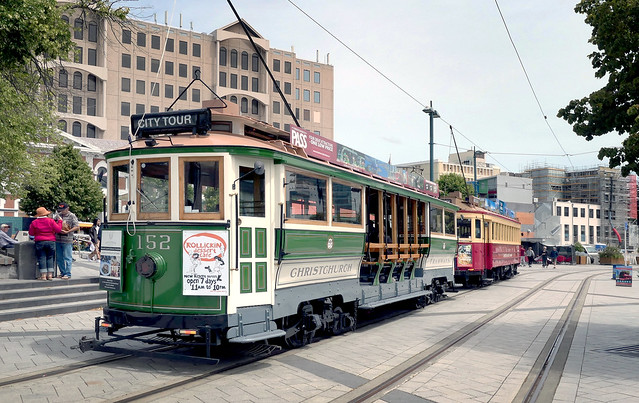 Boon class tram No 152.
