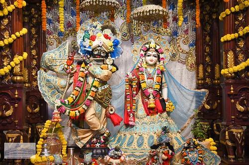 Hare Krishna Temple Ahmedabad Deity Darshan 05 Jan 2020
