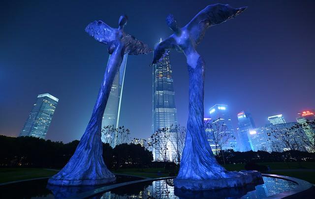 Shanghai - Lujiazui Angels
