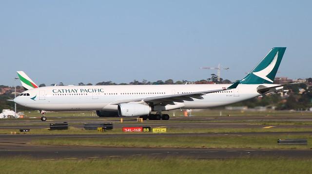 Airbus A330 B-LAF Sydney 10/10/19
