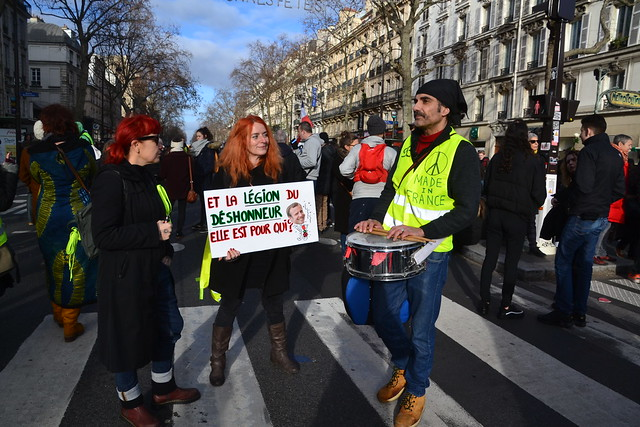 Manifestation du 4 janvier 2020 contre la réforme des retraites