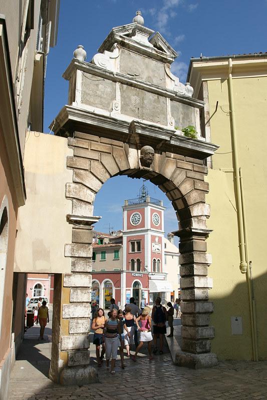 Balbi Gate, Rovinj, Croatia
