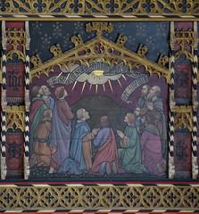 rood loft: Ascension (Temple Moore, 1913)