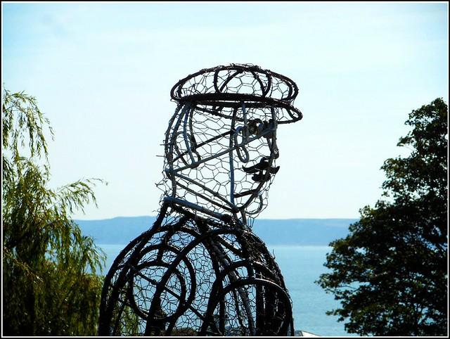 Wire Sculpture...