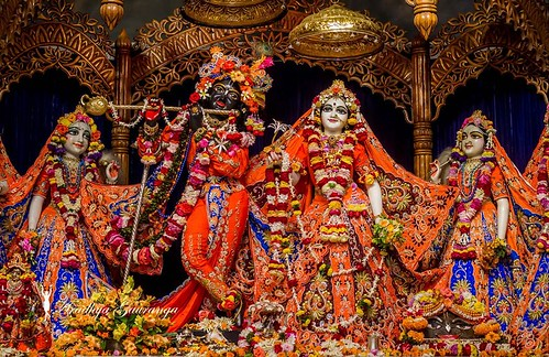 ISKCON Mayapur Deity Darshan 05 Jan 2020