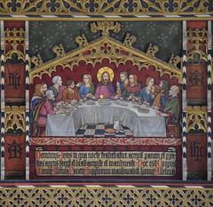 rood loft: Last Supper (Temple Moore, 1913)