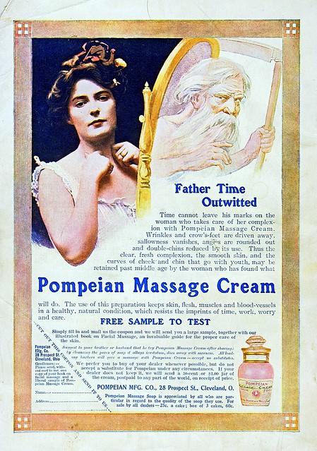 Pompeian Massage Cream - Good Housekeeping Oct 1907