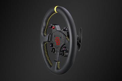 Simagic GT1 Steering Wheel Side