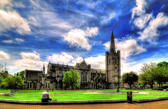 Dublin IR - St. Patrick's Cathedral 06