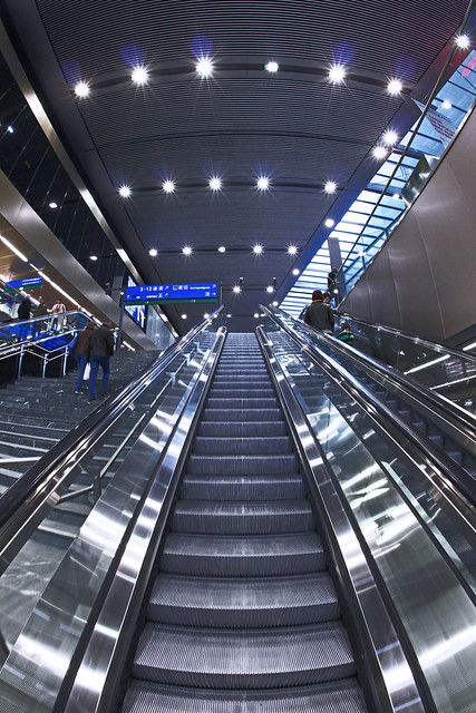 Escalator Symmetry
