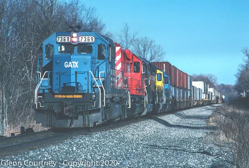 GSCX 7369 #255 Alden NY Mar 25 1995 GSC 130
