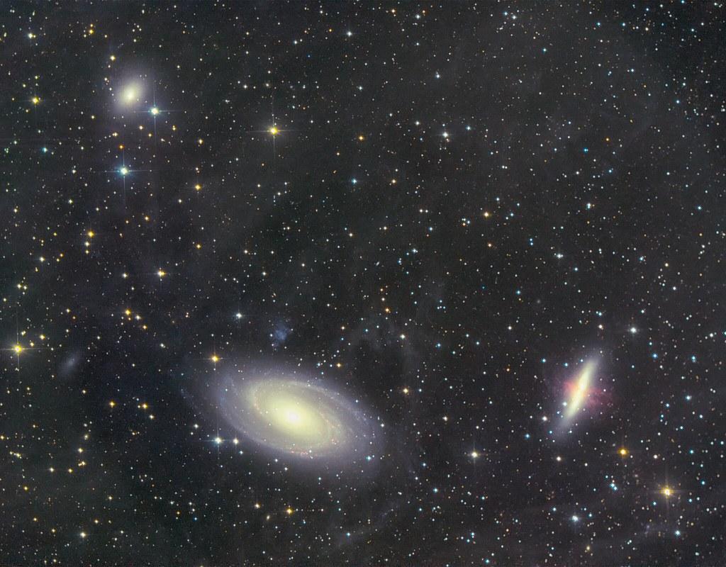 M81, 82 and NGC3077