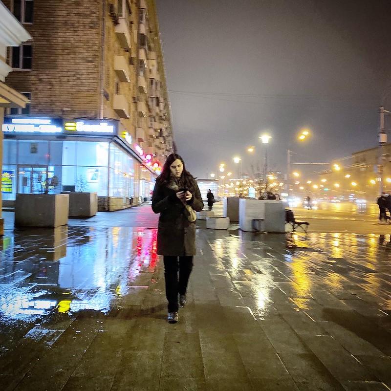 Зима на Соколе