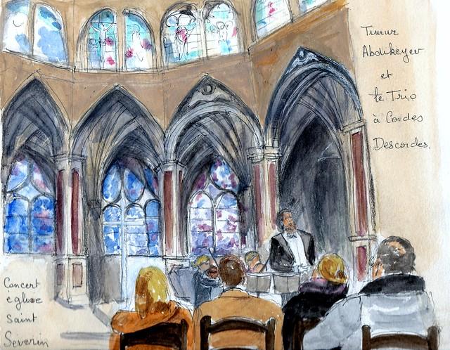 Paris 5ème : concert église Saint Séverin