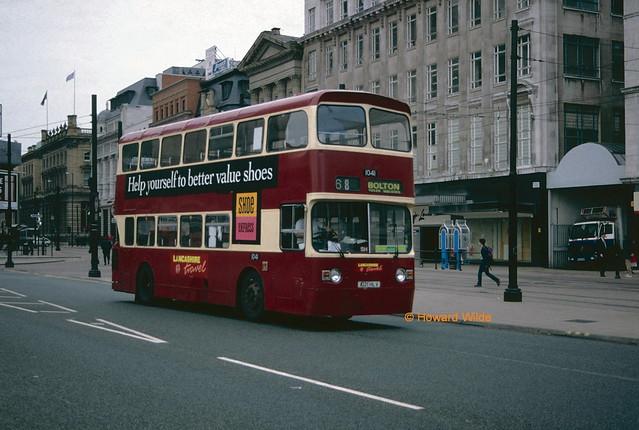 Merseyside Transport (Lancashire Travel) 1041 (A121 HLV)