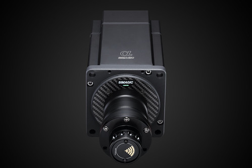 Simagic Alpha Direct Drive unit Front