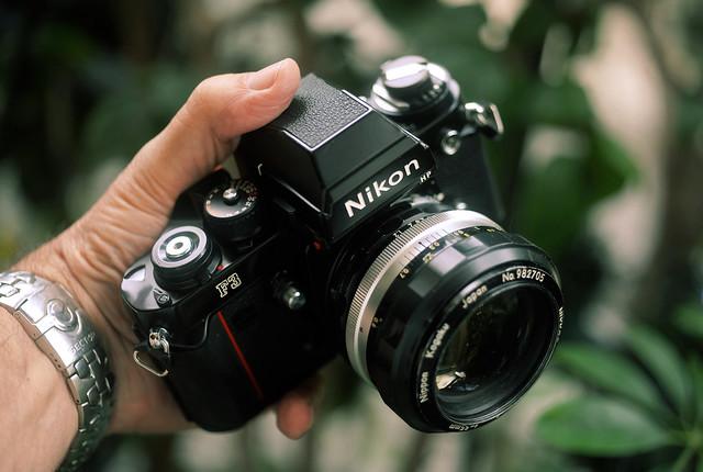 Nikon F3 HP, Nippon Kogaku 55mm f/1.2
