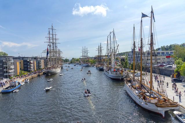 Tall ship festival, Fredrikstad, Norway