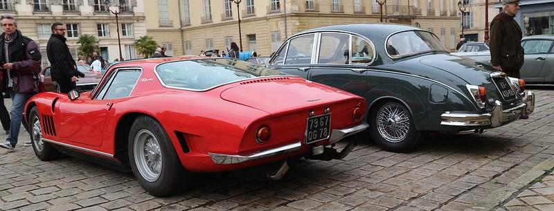 Bizzarrini 5300 ( Chevrolet ) GT America/Strada + Jaguar  MK2/3.8 litres 49334377031_9920b2a619_c
