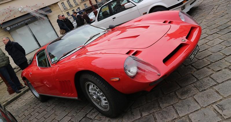 Bizzarrini 5300 ( Chevrolet ) GT America/Strada + Jaguar  MK2/3.8 litres 49334379206_25ca3d1ce3_c