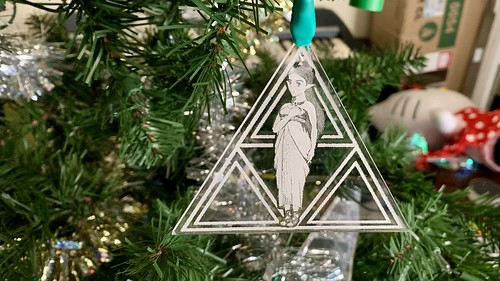 Zelda Ornament, in Light | by Antijingoist