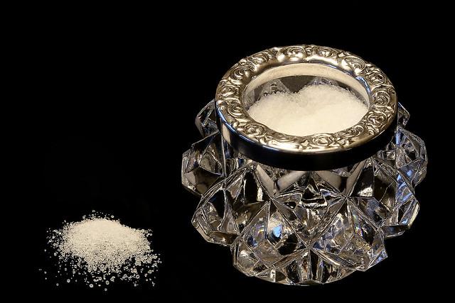 spilling salt