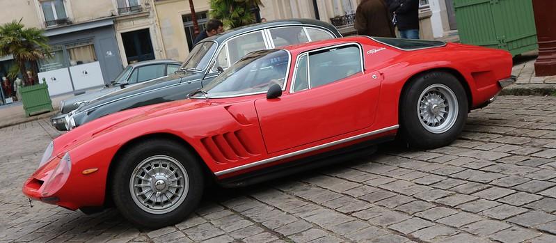 Bizzarrini 5300 ( Chevrolet ) GT America/Strada + Jaguar  MK2/3.8 litres 49334596377_fd8e382108_c