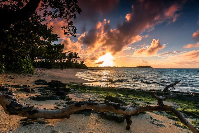 Huahine sunrise