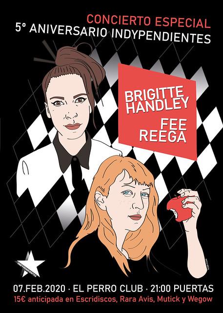 Brigitte Handley & Fee Reega