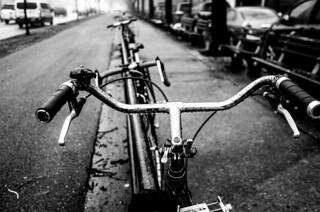 Bicycle on Ocean Parkway