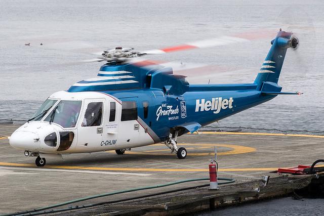 C-GHJW / Helijet / Sikorsky S-76A