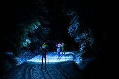 Sobotní Night Light se konal se sněhem vzádech