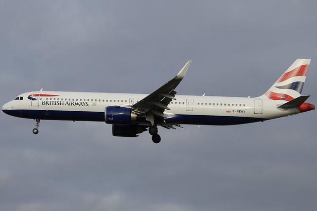 The Growing Speedbird A321neo Fleet...
