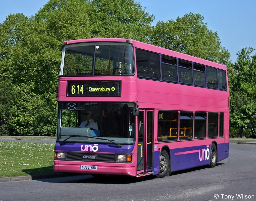 YJ53VBN Universitybus uno 201