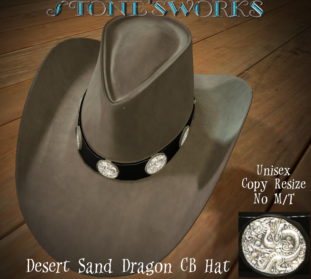 Desert Sand Dragon CB Hat  Stone's Works