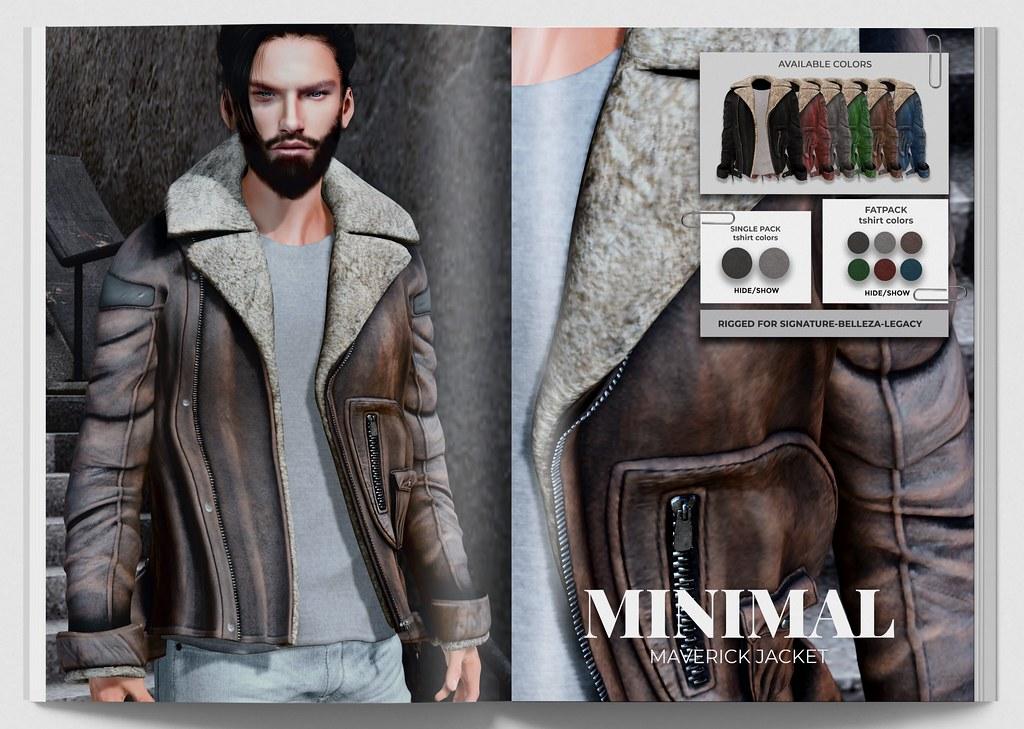 MINIMAL – Maverick Jacket