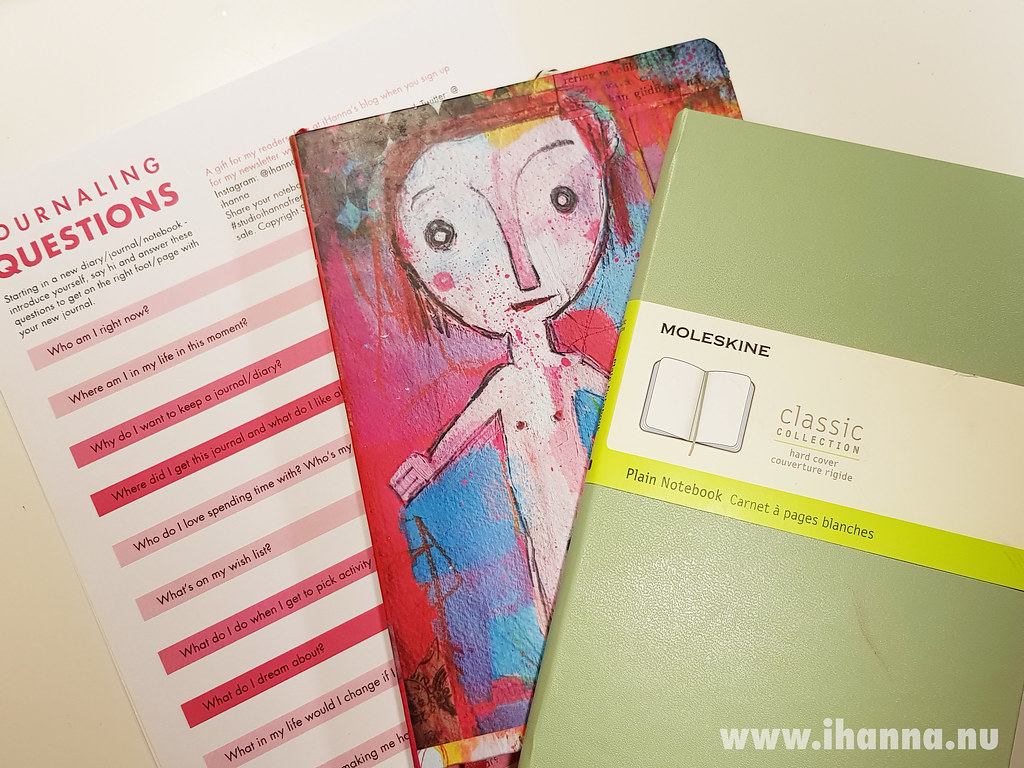 Journaling Questions to print & answer - by iHanna