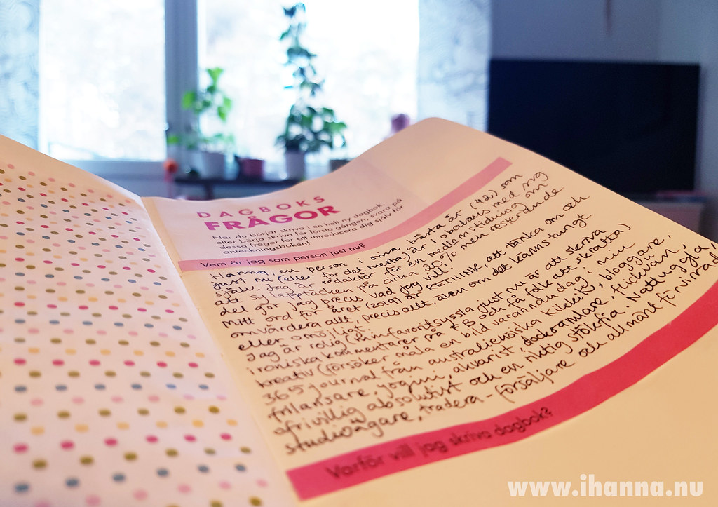 Peek into my diary answering questions