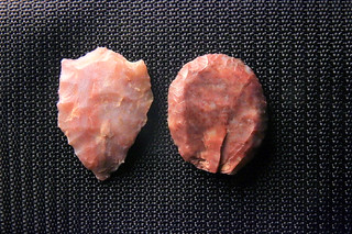 Lithics from ranch, Palo Duro Canyon