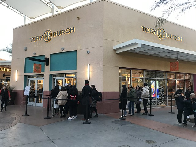 Tory Burch store