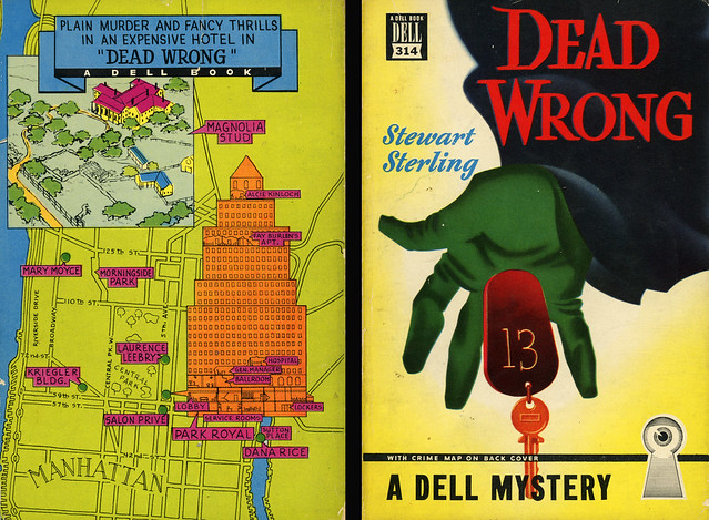 Dell Books 314 - Sterling Stewart - Dead Wrong (with mapback)