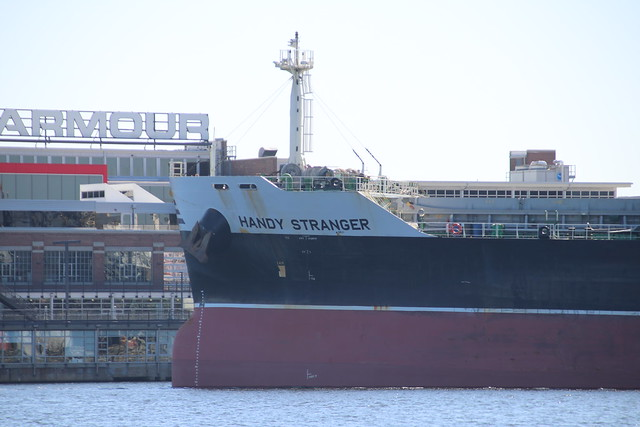 General Cargo Ship Handy Stranger at the Port of Baltimore (Maryland) - October 11th, 2019